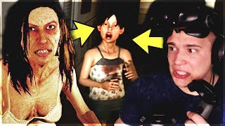NAJSTRASZNIEJSZY HORROR VR! - Paranormal Activity: The Lost Soul #1