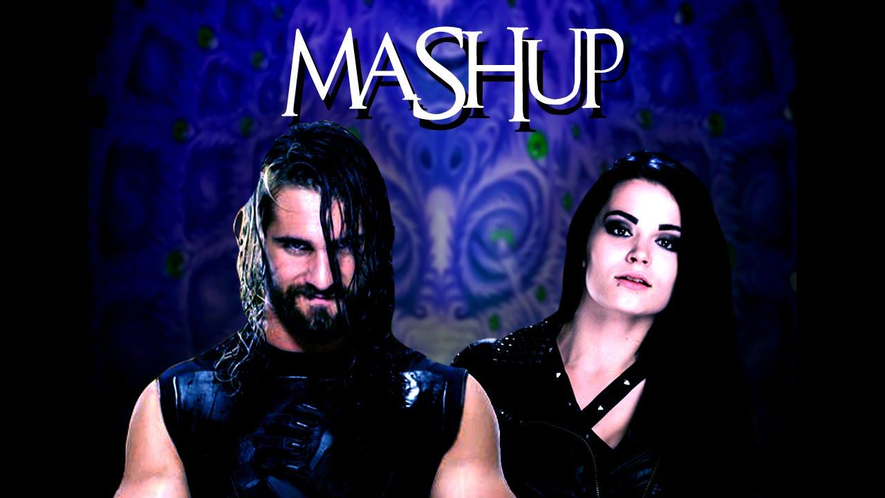 Seth Rollins/Paige Mashup - *With Titantron* - YouTube