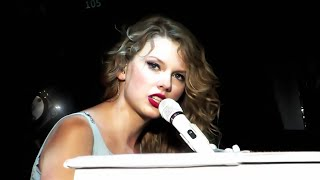 Taylor Swift - Back To December/Apologize/You're Not Sorry Mashup Speak Now Tour