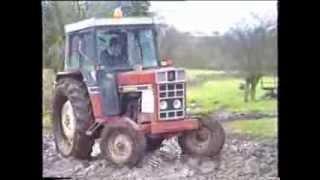 Classic Tractors Working on a South Cheshire Farm 1975 - 2007