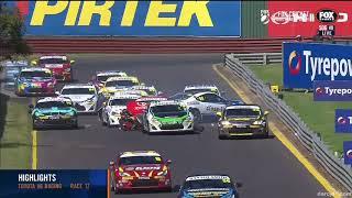 Toyota 86 Racing Series 2018. Race 3 Sandown Raceway. Pile Up