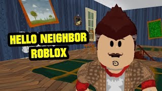 Hello, Brother! - Alpha 2 Chapter 1 | Hello Neighbor Roblox Map