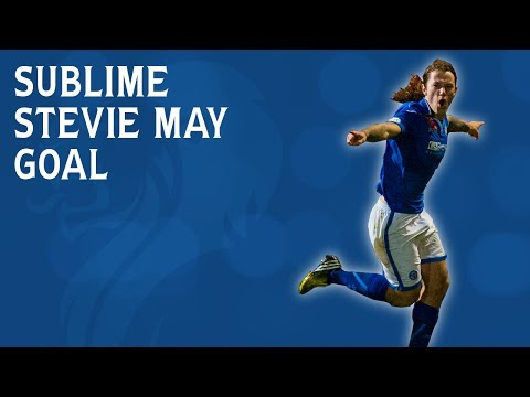 Sublime Stevie May effort beats on-form goalkeeper: Is this goal of the week?