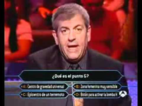 Quem quer ser Milionario Espanhol - O que é o ponto G