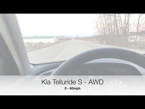 Kia Telluride S - AWD 0-60mph