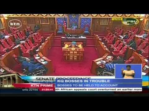 Kenyan senate wants former KQ boss Titus Naikuni held accountable for the losses