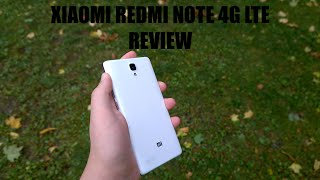 Xiaomi Redmi Note 4G LTE Review