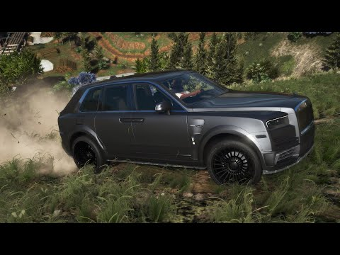 GTA 5  - Rolls Royce Cullinan Mansory - Review