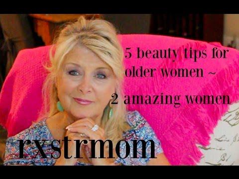 5 MakeUp Tips for Older Women ~ 2 Remarkable Women 🌺
