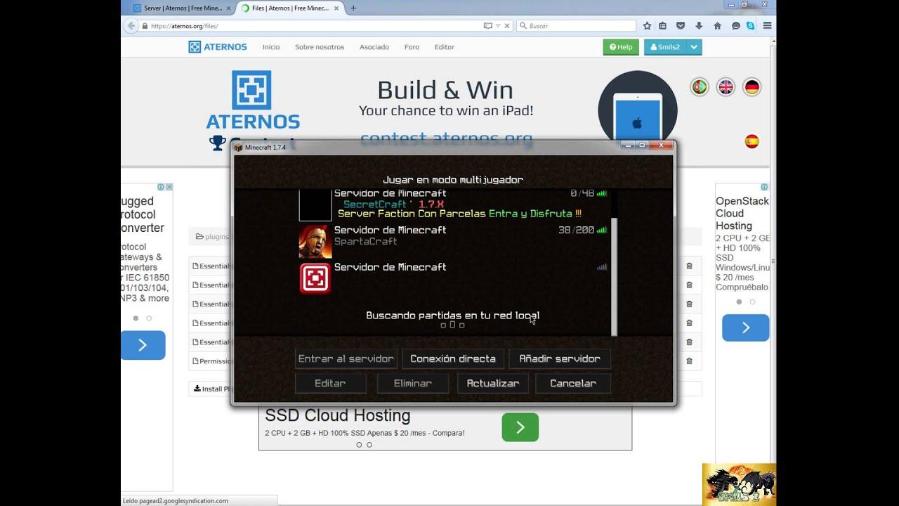 Como crear un server en aternos+PermissionsEx--Smils2 ...