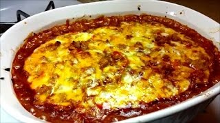 Easy Enchilada Casserole - Red Enchilada Sauce Recipe