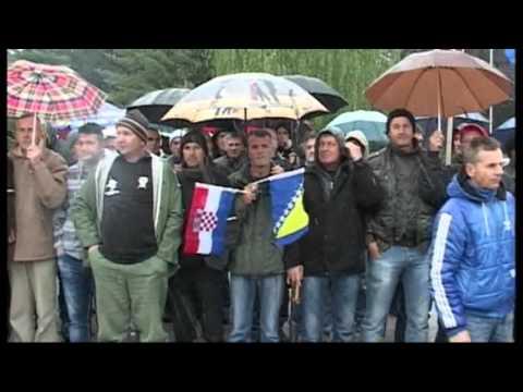 ZABORAVLJENI NAJ ČASNIJI SINOVI ARBiH I HVO-PROTESTI-SARAJEVO 25.04.2016.-  INTERNET BestTV