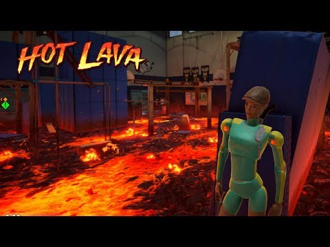 Hot Lava Beta - Parkour Game from the Makers of Don't Starve (Multiplayer | Live Stream)