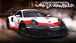 NFS Most Wanted | 2018 Porsche 911 RSR Mod Gameplay [1440p60]