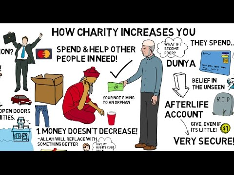 HOW CHARITY INCREASES YOU - Nouman Ali Khan Animated