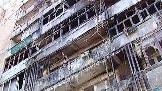 Пожар в Комитетском лесу: во что превратились квартиры погорельцев?