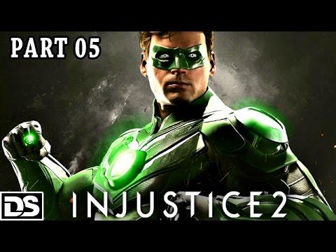 Injustice 2 Gameplay German PS4 - Green Lantern vs Red Lantern - Let's Play Injustice 2 Deutsch #5