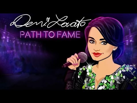 DEMI LOVATO PATH TO FAME - iOS / Android - Gameplay Trailer