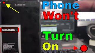 Phone Wont Turn On | Troubleshooting Battery Problem | Get Fixed
