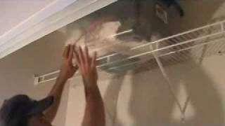 How To Install Wire Closet Shelves
