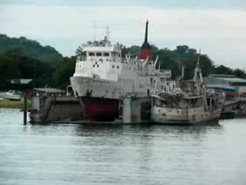 MV Mtendere at Monkey Bay, Malawi