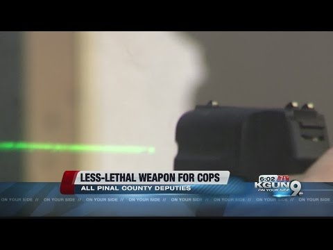 New, less-lethal weapon coming to Pinal County
