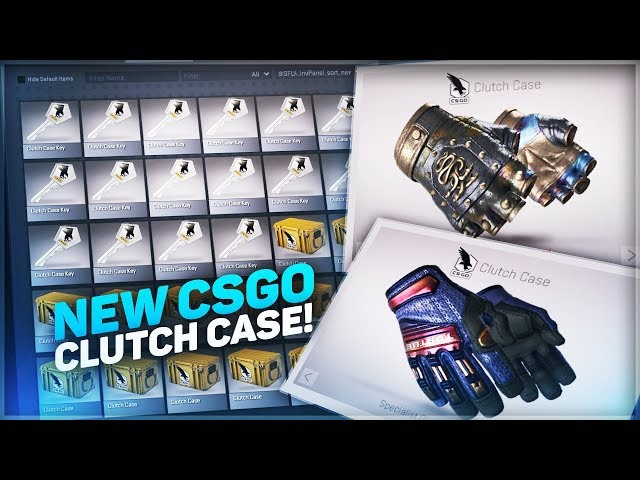OPENING NEW CSGO CLUTCH CASES!