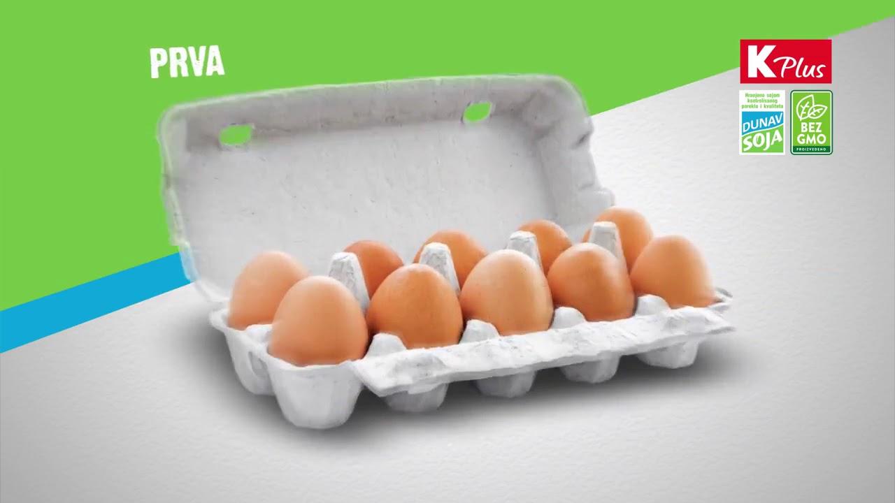 Aktualne K plus domaća jaja Dunav Soja bez GMO - YouTube CO01