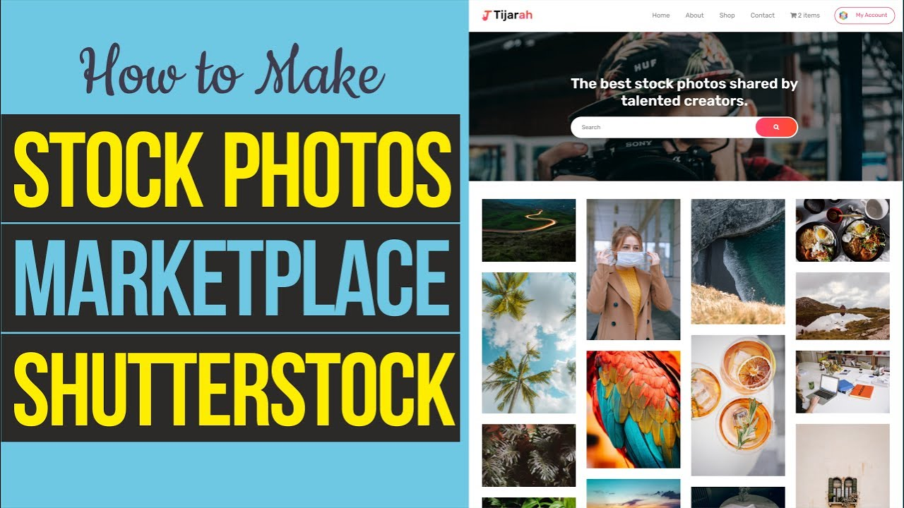 How to Make Stock Photos Digital Marketplace like Shutterstock and Unsplash with WordPress & Dokan