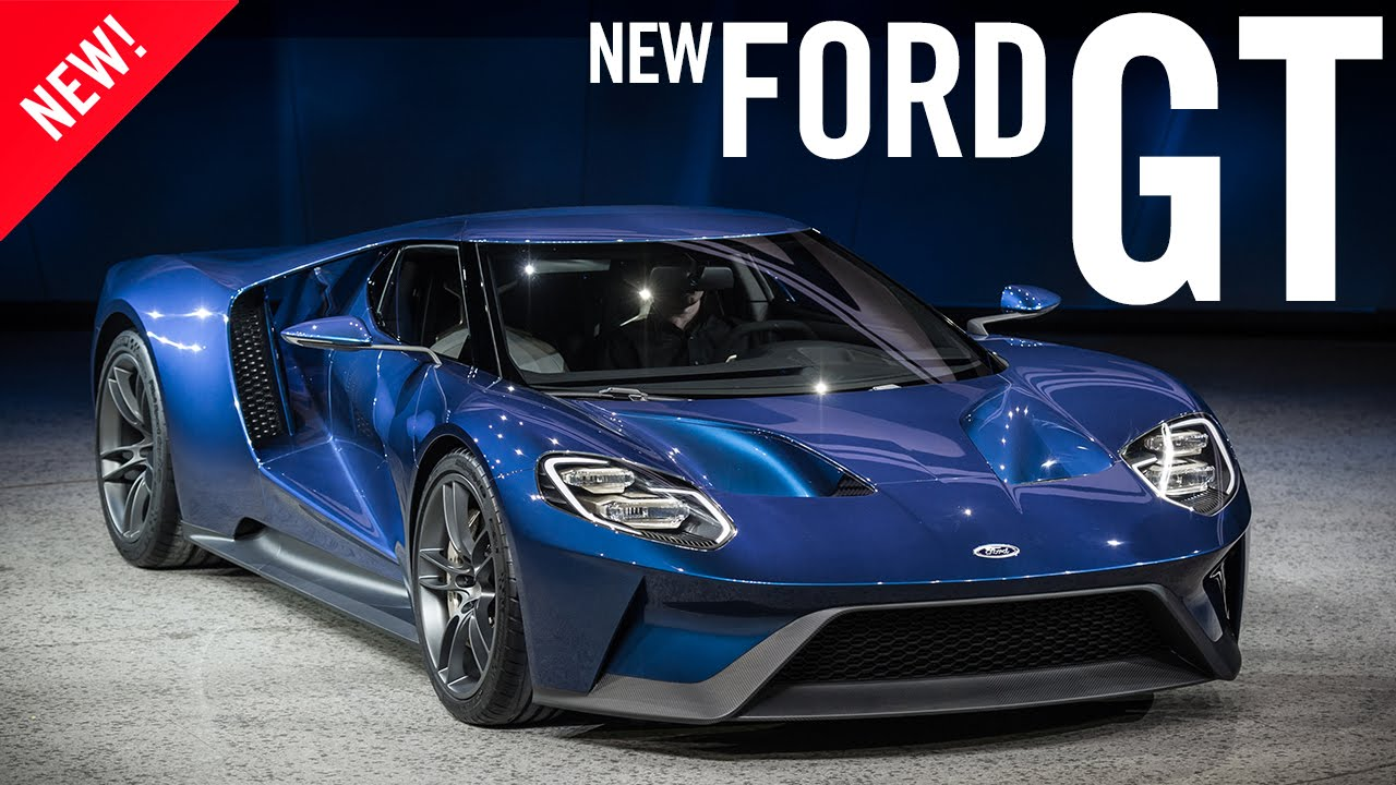 2016 ford gt at naias 2015