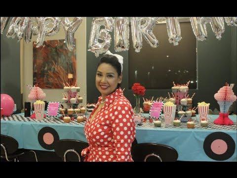50s Theme Birthday Party Decorations Ideas