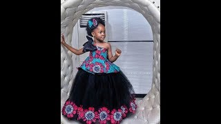 2019 MOST RECENT ANKARA DRESSES AND STYLES FOR KIDS: 50+ ADORABLE #ANKARA STYLES FOR CHILDREN