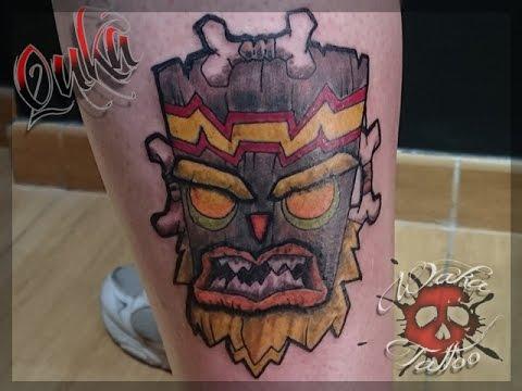 Uka Uka Color Tattoo Timelapse Quka DaToOr Waka Tattoo ...
