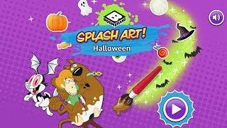 Scooby Doo: Splash Art!   Halloween [boomerang Games]