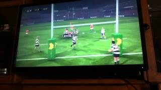 Wallabies rugby challenge 2 game 1 lions tour