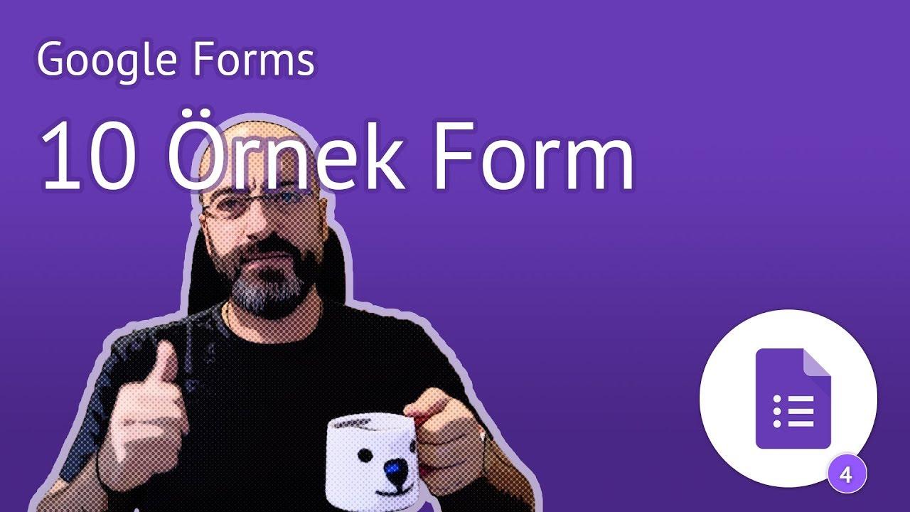Download Mutlaka İncelemeniz Gereken 10 Google Form Örnekleri
