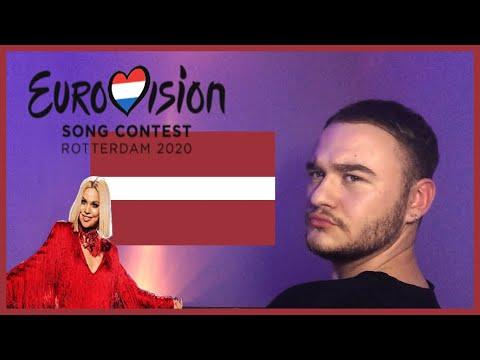 LATVIA EUROVISION 2020 REACTION: Samanta Tīna - Still Breathing              |Avos