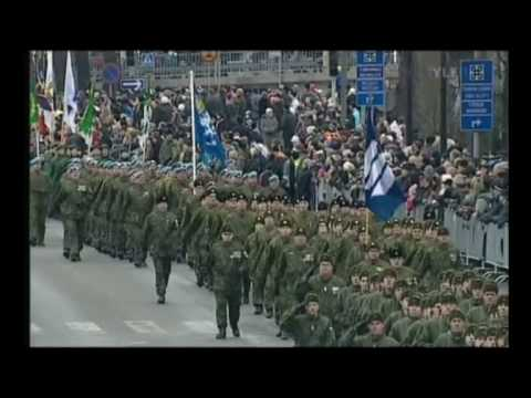 finnish independence day parade part 1 - YouTube