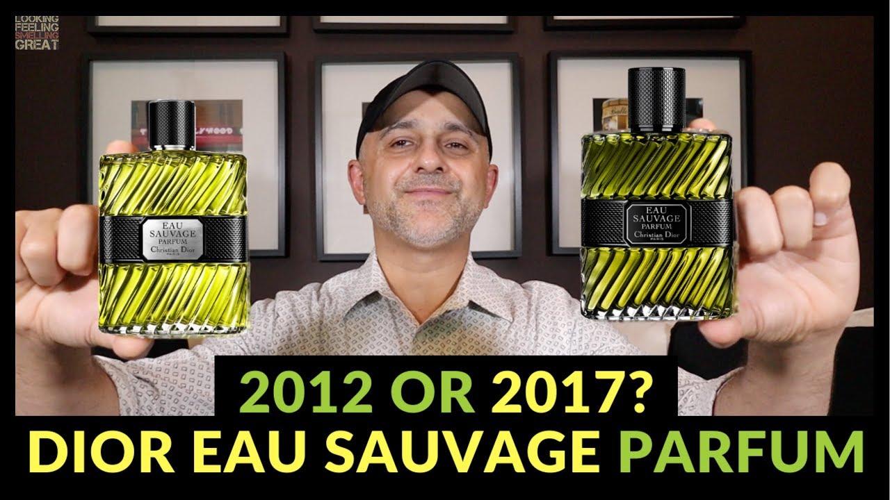 Dior Eau Sauvage Parfum 2012 Vs Dior Eau Sauvage Parfum 2017 Which