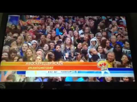 Maroon 5 on the Today Show part 2