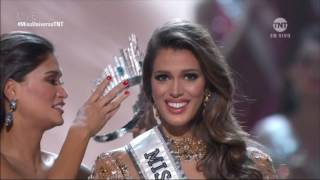 Iris Mittenaere es la ganadora de la corona del Miss Universo 2017