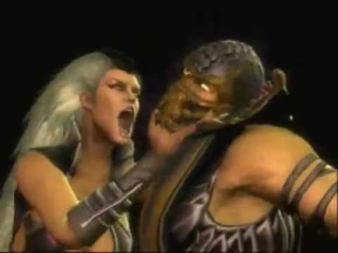 Mortal Kombat 9 fatalities on Scorpion