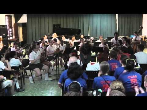 LHS music exchange at Cuban Music School #2 Part 1