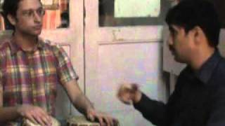 OnlineTabla Teacher Sanjay Karandikar,Pune,India teaching to his American Student Isaac Sussman