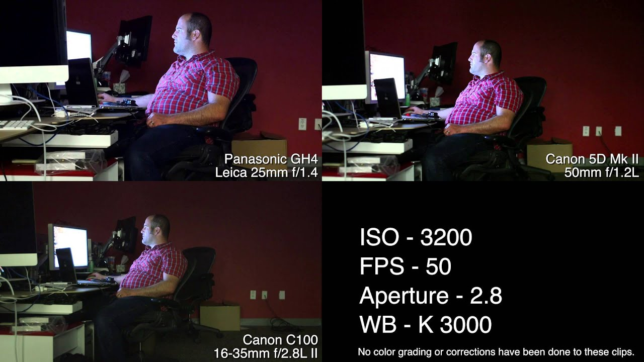 Low light Performance Test - GH4 5D MK II and C100 & Low light Performance Test - GH4 5D MK II and C100 - YouTube azcodes.com