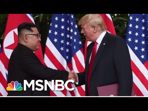 President Donald Trump's Art Of The Film...Movie Trailer Diplomacy | MSNBC