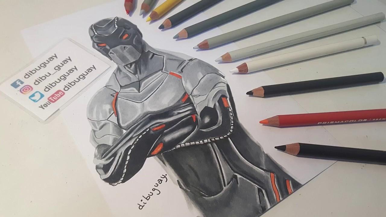 Dibujos Para Colorear De Fortnite: Dibujos Para Colorear De Fortnite Omega