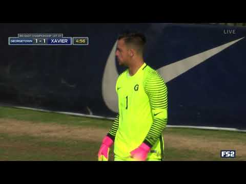 BIG EAST Men\'s Soccer Championship - Georgetown vs. Xavier (Full Highlights)
