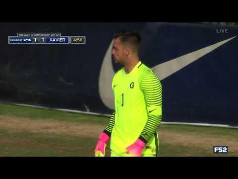 BIG EAST Men\'s Soccer Championship - Georgetown vs. Xavier (Full Highlights)