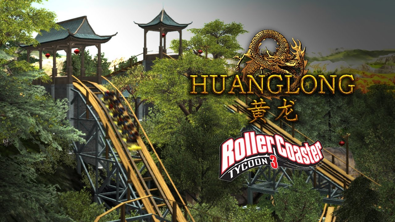RCT3] Huanglong (黄龙) Gravity Group Coaster CT - Wilhelm1407 Coasters
